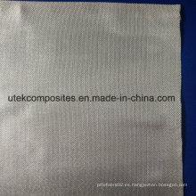 Más de 96% de dióxido de silicio 240GSM Tela de fibra de vidrio