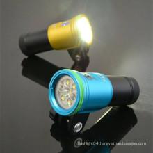 HI-MAX Scuba Gear Diving Light for Underwater Dive Mini Camera
