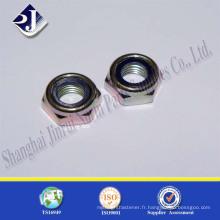 Fabriqué en Chine Blue Ring Hex Nylon Insert Locknut