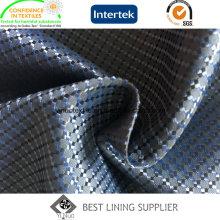 100% Polyester Weiche Herren Anzug Futter Fabric Supplier