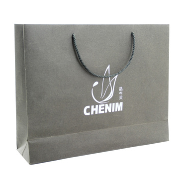 Vestuário de logotipo personalizado Use Shopping Recycled Paper Bag