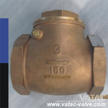 ANSI Cl150 # RF / NPT / Válvula de retención de bolas de extremo de rosca Proveedor
