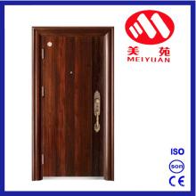 Porte en métal d'entrée de sécurité en acier inoxydable New Design My-F23