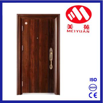 Puerta de metal de acero de la entrada de la seguridad del nuevo diseño 2017 My-F23
