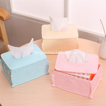 High-grade European Rhinestone Decoration Square Paper Box