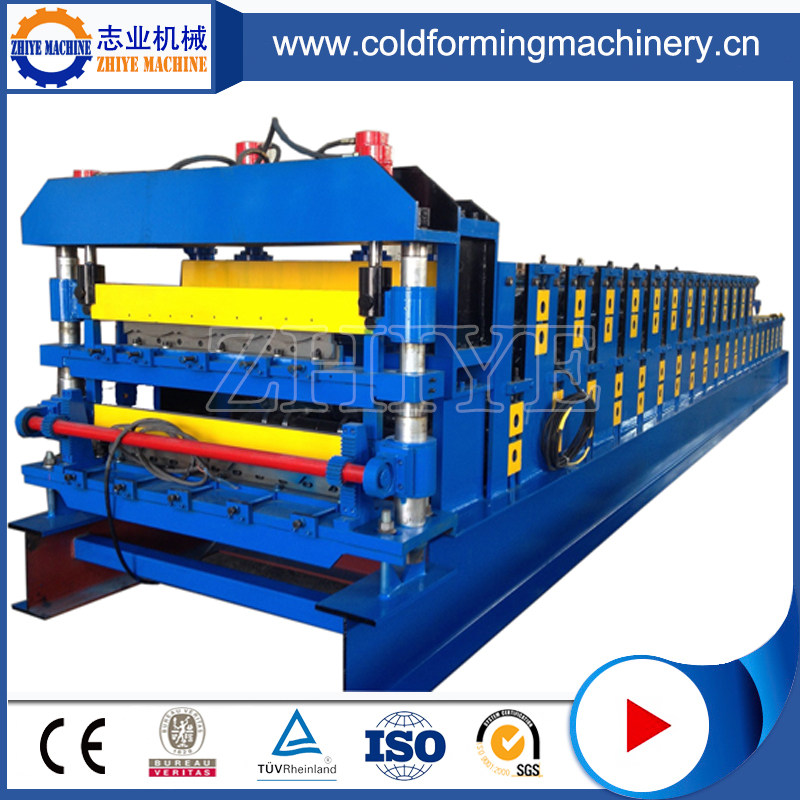 metal glazed sheet cold forming machinery