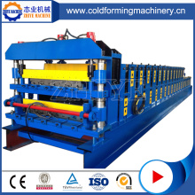 PLC Controlled Glazed Tile Roofing Machine Zinc Botou