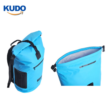 New 30L Roll Top PVC Insulated Waterproof Backpack Dry Bag cooler for fishing and camping