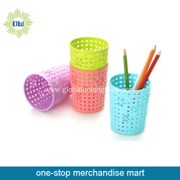 plastic storage bins basket for staionery