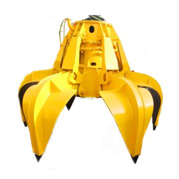 Herramientas mecánicas agarrar con cuatro cuerdas agarrar concha