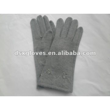 Simple Style Cashmere Woman Glove