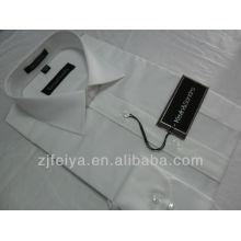 Los hombres de la moda del algodón no de hierro se visten camisas de negocios de manga larga FYST01-L