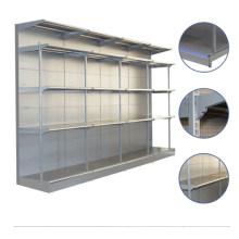 Support d'étagère de stockage en métal de supermarché