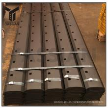 9W2299 High Carbon Curved Blade China Partes de la maquinaria de construcción Tierra de las herramientas de enganche Curved Edge Factory
