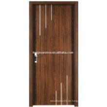 WPC PVC-Toiletten-Türentwurf, einfache Qualitäts-Toiletten-Tür