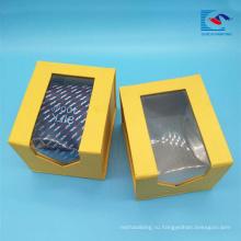 Sencai изготовленные на заказ ясные окна PVC галстук подарочная упаковка цена завода