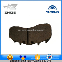 China supplier EX factory price bus spare part 3501-01947 Front brake lining assy for Yutong ZK6129HCA