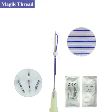 Small PDO Thread Lift para cejas con cuello nariz