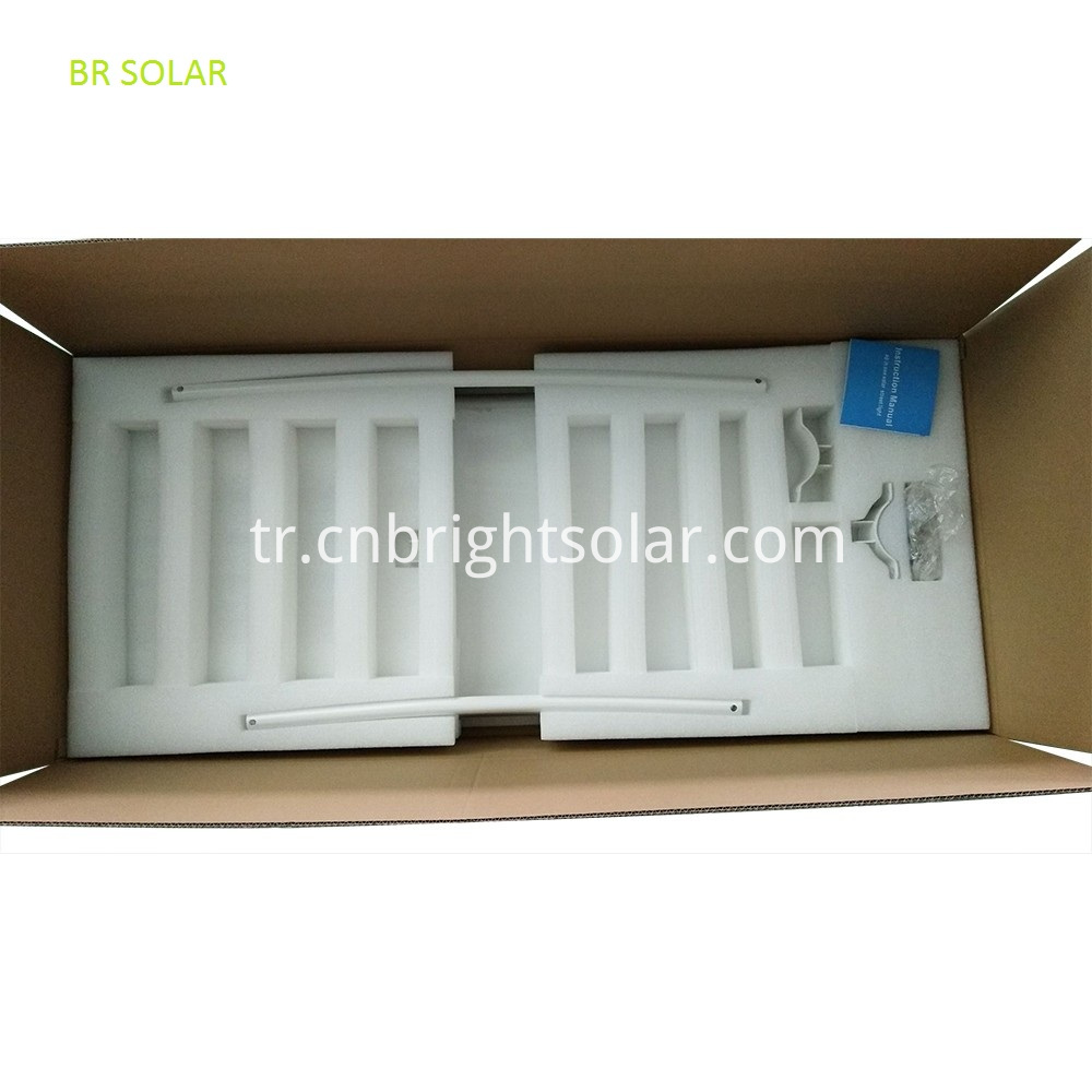 80W Integrated Solar Street Light
