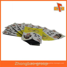 Samll ziplock bag plastic food packaging heat sealable bag