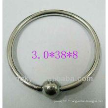 Meilleur prix de l'usine directe Bagues de mode de haute qualité Ensemble de bijoux en cape capillaire