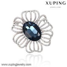 00047 Broche de flores temperamentales de alta calidad para mujeres, ocasión importante, cristales elegantes de Swarovski