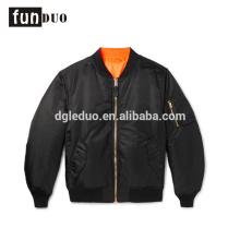 2018 мужчин куртка бомбардировщика черный пиджак одеждой 2018 новый бомбардировщик куртка полета куртка одежда