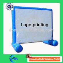 Pantalla inflable de la cartelera hinchable inflable para la venta modificada para requisitos particulares cartelera de publicidad del color para la venta