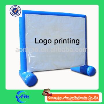 Panneau gonflable de film gonflable pour film à vendre panneau publicitaire personnalisé en couleur à vendre
