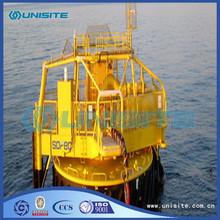 Steel mooring marine buoy