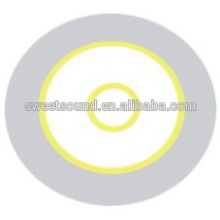 Componentes eletrônicos de aço inoxidável 35mm 3.0khz piezo disc factory