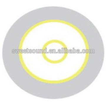 Guangdong fábrica alarme piezo cerâmica disco 3.0khz 35mm piezo diafragma