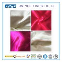 Tissu de satin de polyester tricoté à la main par 100d de 50d * 75D / 220 * 96 pour des textiles à la maison
