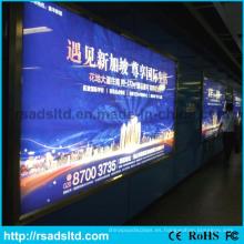 Caja de luz LED de tela de marco LED