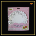 Different Size Pure Pretty Promotional Paper Doilies