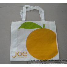 Großhandel weiß recycelbaren PP Non Woven Tasche für Shopping
