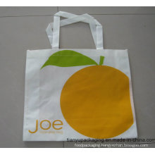 Wholesale White Recyclable PP Non Woven Bag for Shopping