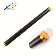 RDTB007 aparejos de pesca de alta calidad tubo de la varilla de la mosca del tubo de aluminio de la varilla de la mosca