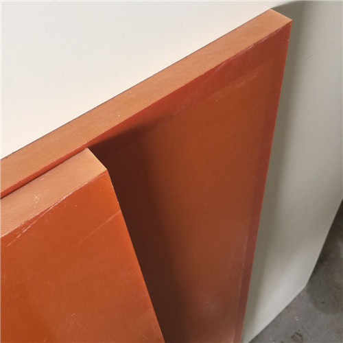 Orange Bakelite Paper Sheet