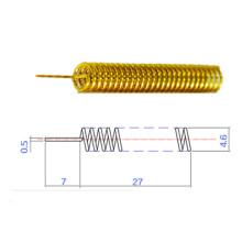 customized 433/915MHz antenna types of inner 433 MHz springs antenna