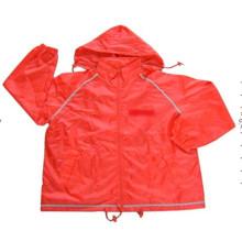 Atacado poliéster homens leve jaqueta impermeável Windbreaker para Outdoor