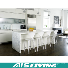 Matt Lacquer with Quartz Kitchen Cabinet Furniture (AIS-K433)