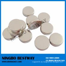 Flacher Disk Runder Neodym-Magnet