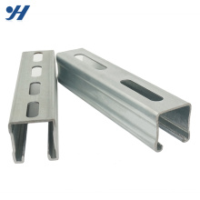 High Quality China Credit Supplier Galvanized Steel C Channel