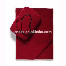 15PKEM05 2017 costume de couchage compagnie aérienne travlling eyemask et couverture