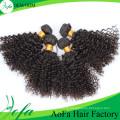 Extensão do cabelo humano da categoria 7A, cabelo não processado do Virgin de 100% Remy