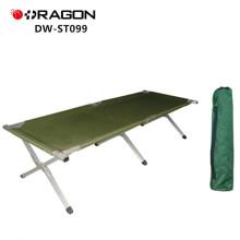 DW-ST099 Populäres leichtes Metallbett, das kampierendes Bett faltet