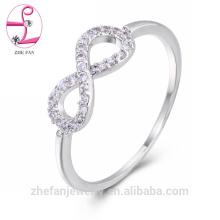 2018 anillos de boda del diamante del claddagh del oro blanco único para hombre