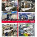 Maquinaria de impressão de material PVC