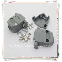 Пластиковый корпус DB15 для D-Sub 15 контактов 2 ряда